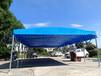 移動遮陽棚收縮陽臺棚伸縮雨棚大型倉儲棚