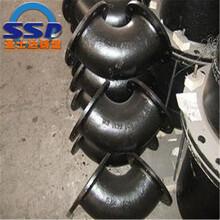廠家直發雙盤90度彎頭球墨鑄鐵彎頭DN400x90度彎頭價格圖片