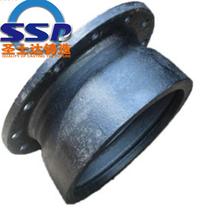 山東球墨鑄鐵管件廠訂做法蘭盤短管DN700盤承短管價格圖片