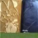 LOGO數字文字燙金浮雕模定制銅模