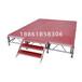 鋁合金拼裝防滑舞臺大型演出快裝插片舞臺鋁合金防水舞臺板