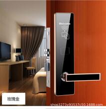 賓館刷卡鎖木門感應鎖ic卡鎖磁卡鎖家用鎖辦公室鎖圖片