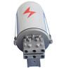 山東固聯ADSS/OPGW光纜金屬帽式接線盒三進三出接續盒