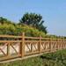 江西仿木水泥護欄直供景區景觀河道橋梁公園仿木欄桿水泥木紋護欄