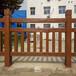 水泥仿竹欄桿3D型水泥仿木護欄景觀護欄廠家全國供應