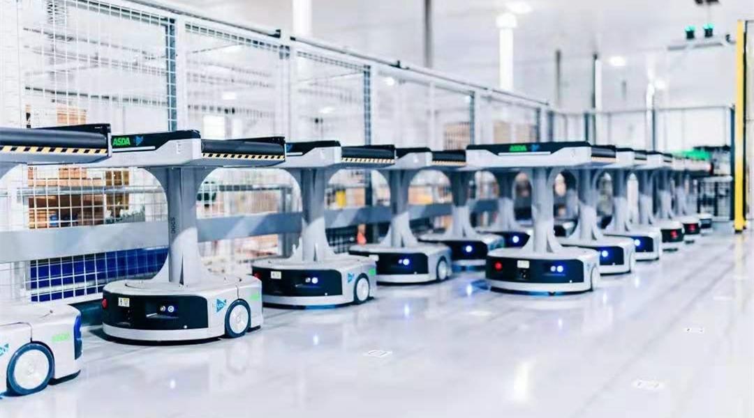 搬运机器人agv全自动机器人agvagv自动搬运机器人_物流