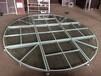 鋁合金玻璃舞臺透明玻璃舞臺戶外舞臺定制出售