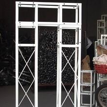 鋼鐵桁架背景板桁架廠家鋼鐵桁架架構定制出售圖片