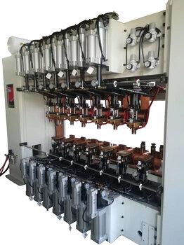 江苏多头点焊机多焊头点焊机豪精焊接点焊机生产厂家