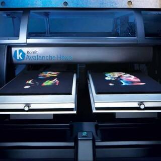 以色列康丽进口高速成衣数码直喷印花机图片3