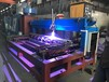 佛山榮高自動熱噴涂設備燈桿鋼管鋼軌自動噴鋅加工