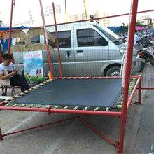 三乐玩具专供游乐场钢架蹦极手摇器更省心图片