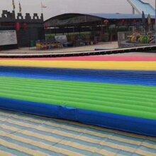武汉景点抖音同款网红桥气垫pvc材料图片