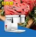 新款切肉机不锈钢切肉机小型切肉机食堂切肉机