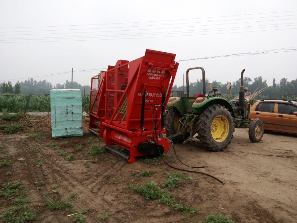 秸秆回收玉米收割机多少钱青储秸秆回收机玉米秸秆回收机厂家-新型