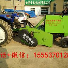 秸秆切碎回收机玉米秸秆粉碎打捆机秸秆收割打捆机多少钱