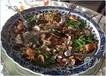 酒店海鲜大餐盘陶瓷手工大餐盘