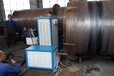 轧辊辊环热装高频加热设备