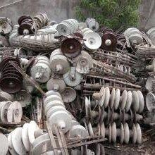 爱回收废旧电缆回收绝缘子绝缘子回收绝缘子回收厂家图片