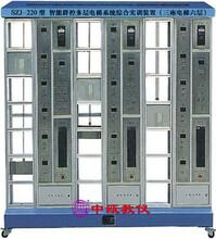 SZJ-220型智能群控多层电梯系统综合实训装置(三座电梯六层)