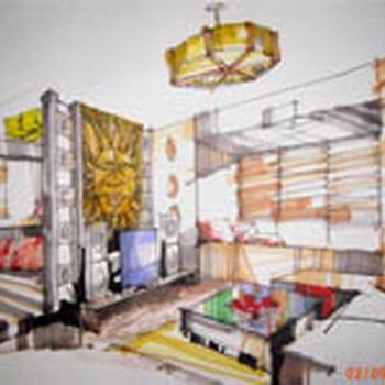 苏州木渎陶园居室内设计培训一对一辅导
