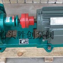 RCB/LQB/LB高温夹层保温齿轮泵(沥青泵)可通蒸气或导热油图片