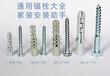 北京市天宝富强供应六角木螺丝膨胀塞胶管涨塞加重膨胀管