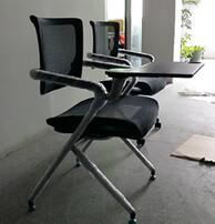 培训椅,带写字板椅,学习椅,新闻椅图片