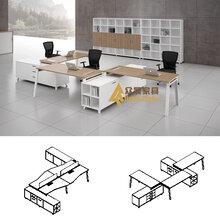 板式大班桌尺寸深圳办公家具定制主管办公桌