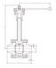 低温对焊球阀,DQ61F-16P,不锈钢低温对焊球阀