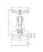 焊接针型阀,J61W-40P,不锈钢高压焊接针型阀