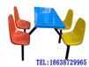 厂家出售四人连体餐桌椅_款式新颖,量大从优