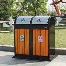 厂家供应承德地区塑木垃圾桶,小区垃圾桶,图片