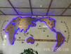 电子钟世界时间钟表酒店大堂背景时钟前台电子时钟世界时钟