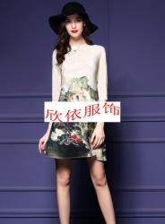 2016真丝系列高端夏装凯撒贝雷折扣女装批发