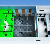 演播室灯光设计,演播室灯光布光图,演播室灯光明细表,演播室灯光安装