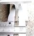专业级演播室灯光架6毫米厚工字铝滑轨固定轨厂家,工字铝合金固定轨道滑轨价格报价车