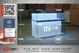 最新小米手机柜台销量好新款小米木纹手机柜材质