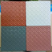 河南奧麗凱莎廣場磚廠家,陶瓷樓頂磚批發圖片