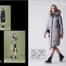 朗曼笛ROMANTY&欧帝帝16羽绒服,专柜品牌女装库存批发图片