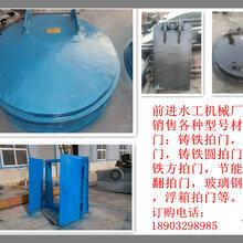 DN800铸铁圆拍门圆形铸铁拍门生产厂家