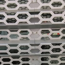 装饰穿孔板厂家 冲孔铝单板 冲孔板直销图片