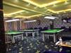 上海廠家批發臺球廳健身房桌球室工程滿鋪地毯素色圈絨地毯