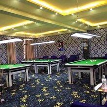 上海厂家批发台球厅健身房桌球室工程满铺地毯素色圈绒地毯图片
