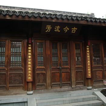 四川哪里可以做木制门窗-仿古门窗批发厂家