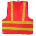 阿里巴巴爆款反光衣服可印字带logo反光背心多口袋反光马甲
