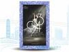 新款4.0CM青花瓷框开启式超薄灯箱