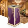 百变金柯创意艺术风格垃圾桶酒店商场定制款垃圾桶厂家直销