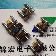 J30J弯插印制板微矩形连接器W-J/W6-J型专业厂家专供图片