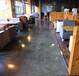山西咖啡厅复古地面施工-复古地坪